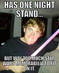 Star Wars Memes Funny - one night stand funny star wars meme
