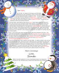 father christmas letter templates free north pole santa letters north pole letters from santa claus
