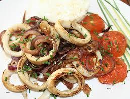 cuisiner calamar cuisine cuisiner encornet lovely anneaux d encornet calamar seiche