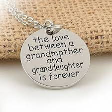 grandmother and granddaughter necklaces the between a grandmother and granddaughter are