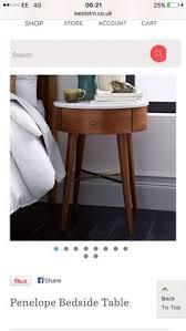 West Elm Bedside Table Nightstands Solid Wood Black Nightstand Winsome Wood Black