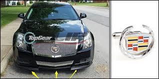 top gear cadillac cts v aliexpress com buy bumper lip deflector for cadillac cts
