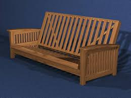 solid wood futon frame sleep concepts mattress futon factory amish rustics futon frames