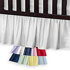Bed Skirts For Cribs Crib Skirts White Pink Crib Bed Skirts Buybuy Baby