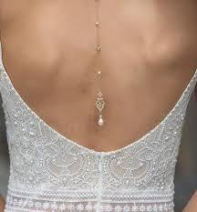 wedding backdrop necklace wedding accessories bridal back jewelry o bridal