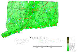 Uconn Storrs Map Connecticut Printable Map