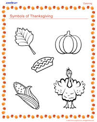 symbols of thanksgiving free thanksgiving coloring page jumpstart