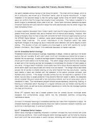 chapter 6 special trackwork track design handbook for light