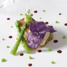 cuisiner un sandre dos de sandre de saône rôti sur peau aux asperges vertes de varois