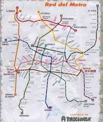 Mexico City Airport Map by Mexico City And Vicinities Ciudad De Mexico