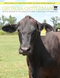 georgia cattleman september 2015 by georgia cattlemen u0027s
