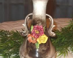 Capodimonte Vases Antique Vintage Capodimonte Vase Italian Porcelain Vase Collectible
