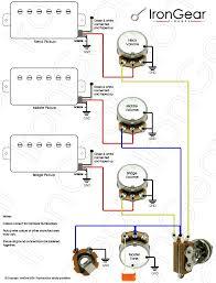 3 humbucker wiring diagram gooddy org