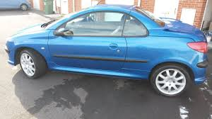 blue peugeot used peugeot 206 and second hand peugeot 206 in north yorkshire