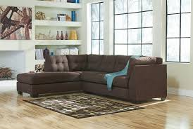 corner chaise sofa maier walnut 2 pc laf corner chaise sectional 45201 16 67