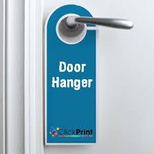 door hangers clickprint