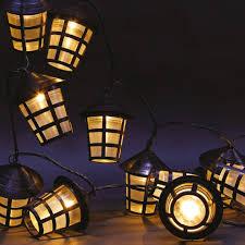 led lantern string lights 70 warm white led garden lantern string lights this is it stores uk
