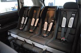 Car Upholstery Edinburgh The Multimac Device That Fits Four Child Seats Across The Back Of