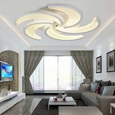 deckenleuchten design gã nstig le wohnzimmer led gemütlich auf ideen in unternehmen mit led 27