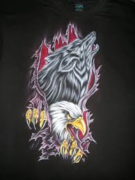 wolf and eagle by crazyraj on deviantart