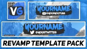 template youtube photoshop cc ecouter et télécharger free youtube banner avatar template 41