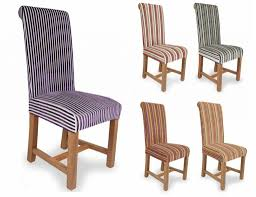 Striped Home Decor Fabric Striped Dining Chairs Modern Chairs Design