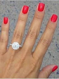 engagement rings with halo best 25 halo engagement rings ideas on halo