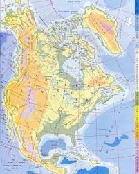 Blank North America Map by North America Outline Map