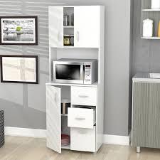 wooden kitchen storage cabinets inval america larcinia white laminate wood kitchen storage cabinet