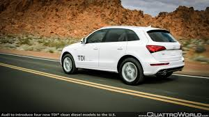 audi to introduce four new tdi clean diesel models to the u s
