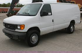 2004 ford econoline e350 extended cargo van item f2634 s