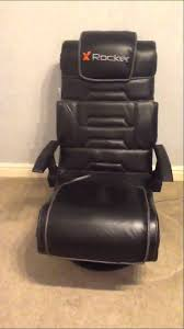 x rocker pro gaming chair youtube