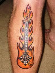 Guitar Tattoo Designs Ideas 35 Musical Guitar Tattoo Designs For You To Try Instaloverz