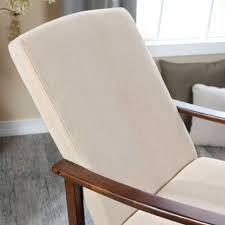 Rocking Chair Seat Pads Modern Design Wooden Rocking Chair With Thick Seat And Back