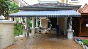 Retractable Awning Malaysia Motorized Retractable Fabric Awning Services Available In Shah