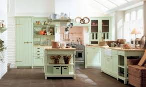 Green Country Kitchen Kitchen In The Country House Style Discover The Coziness In Your