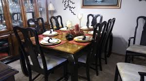 Dining Room Table And Hutch Sets by Asian Dining Room Set Table Chairs Hutch Kelliedeals