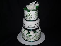 wedding cakes near me white and emerald green wedding cake color me with emerald green