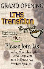 Shop Opening Invitation Card Special Ed Students At Lyons Township H S To Operate Coffee Shop