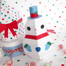 printable paper craft pdf print make and play merry wishes