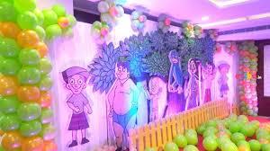 theme decor best chota bheem theme decor birthday custom theme decorations