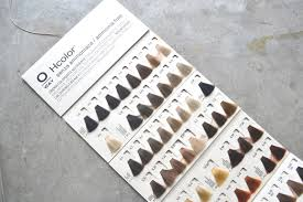 Hair Color Wheel Chart Organic Hair Color Brand Guide Oway Simply Organic Beauty