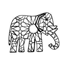 10 dessins de coloriage éléphant indien à imprimer