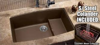 Silgranit Kitchen Sink Reviews by How To Clean A Blanco Composite Granite Sink Befon For