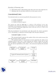 hamming and convolution codes digital communications lab handout