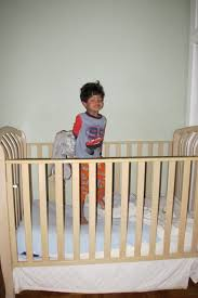 Old Baby Cribs by My 4 Year Old Sleeps In A Crib A Mama