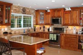 Glazing Kitchen Cabinets Before And After by Cinnamon Maple Glazed Kitchen Cabinets U2014 Flapjack Design Best