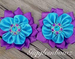 ribbon flowers ribbon flowers etsy