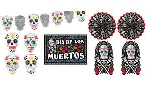 day of the dead decorations supplies day of the dead skulls