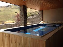 deck swimming pools above or in ground lap pools